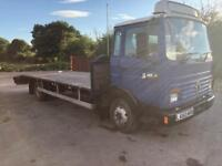 RENAULT RECOVERY TRUCK 7.5 TONS. 1994 L REG 6 cylinder turbo diesel 24v winch pulls 6Ton