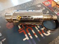 Lextek stubby exhaust used