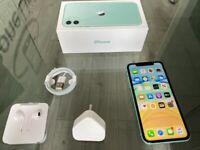 Green Apple Iphone 11 64GB On EE + Apple Warranty