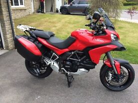 Ducati Multistrada MTS 1200 S Touring Red, the only colour for a Ducati.