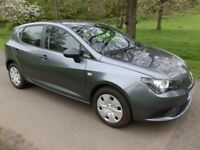 SEAT Ibiza 1.2 TDI Ecomotive S 5 door hatch in grey / 1 owner car with service history / long MOT