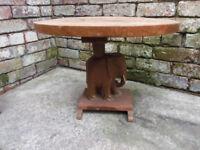 Elephant inspired coffee table L 60cm W 46cm H 45cm