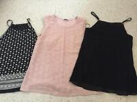 Bundle of size 10/12 tops