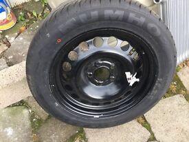 Vauxhall Astra spare wheel, Kumho 205 55 16