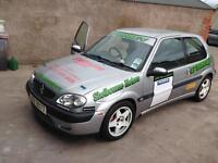 Citroen saxo vts race track rally car