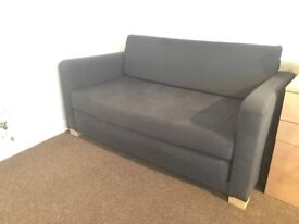 Small Blue Sofa Bed