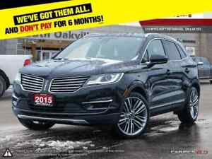 2015 Lincoln MKC RESERVE | AWD | BLUETOOTH | HEATED & VENTED LEA