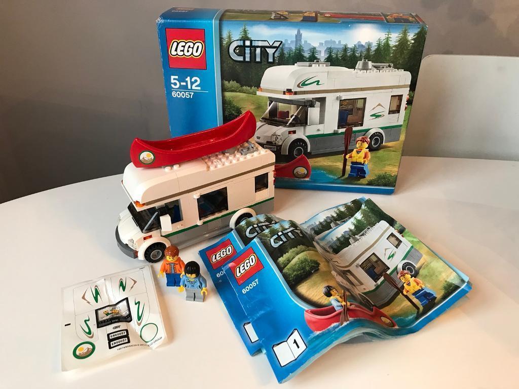 Lego City Great Vehicles Camper Van Set 60057 In Crewe Cheshire