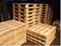 WOODEN PALLETS - EXCELLENT USED CONDITION