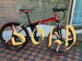 Sold Mens Foldable 26 inc Mountain Bike Sold