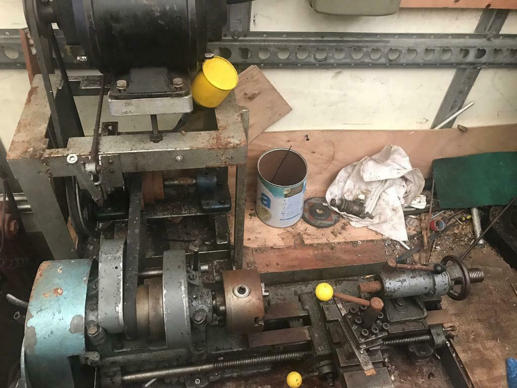 Small bench metal turning lathe   in Worsbrough, South Yorkshire   Gumtree