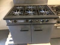 6 Burner Cooker ,Strathavon,Natural Gas ,Good Clean Working Order,Needs 4 Knobs For Front ,Bargain
