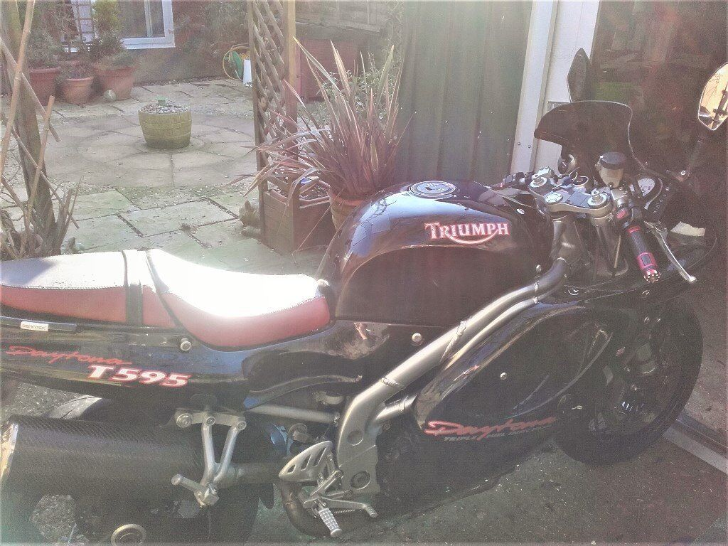 1997 triumph daytona t595 in vgc for year + extras, sale or swap
