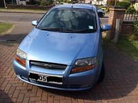 Lovely low mileage Chevrolet Kalos for sale!