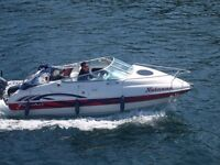 Fletcher gto 19 cabin cruiser with mariner efi 100 hp 4-stroke late 2014 - 30 hours