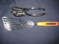 Stainless Steel Tin Opener and Egg Flip