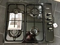 CDA Black Gas Hob