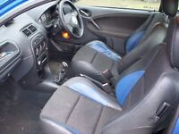 MG ZR Rover 200 25 leather seats