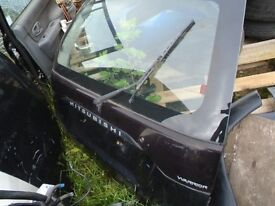 MITSUBISHI WARRIOR REAR DOOR, 1998-2006