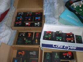 Diecast Hatchette Tractors x 37