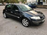 Renault Megane Grey 2006, 1.6 MOTD, 63k mileage with FSH, 1 previous owner, 2 keys