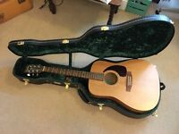Simon & Patrick Luthier - Cedar Acoustic Guitar - Quality Hard-Case Included (VERY GOOD CONDITION)
