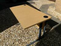 Perfect sized desks for sale 1200 x 600mm in light oak also 1000 x 800mm available