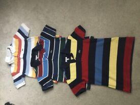 3 x Boys LACOSTE Polo Shirts 1 Age 8, 2 Age 10 - £5 EACH