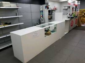 Post office Spotland road. COUNTER SPACE TO LET.