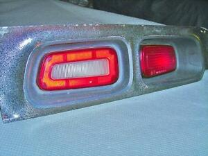1972 to 1974 Challenger Taillights