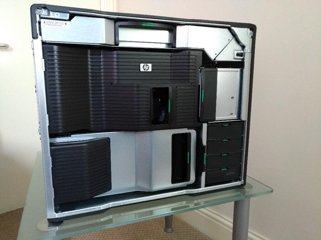 HP Z800 Workstation (12 Cores/ 24 Threads), 2x Xeon X5660 (2 80 GHz), 32GB  RAM | in Chingford, London | Gumtree