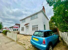 4 Bedroom DETACHED House with 3 Bathroom/wc on Eton Avenue, Wembley, London HA0 3AZ