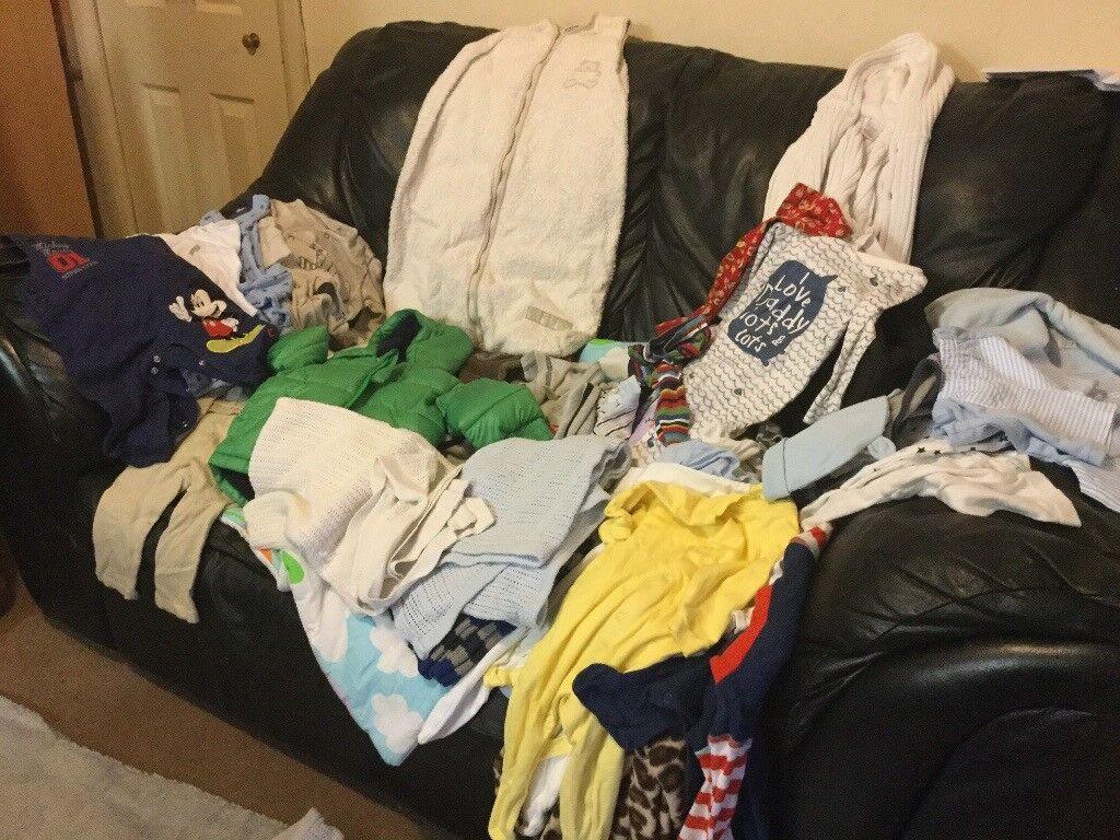Baby clothes bundle 0-3m/0-6m