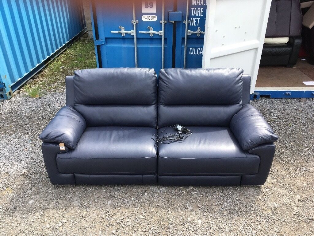 Dfs 3 Seater Leather Recliner Sofa Refil Sofa