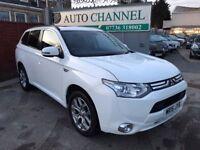Mitsubishi Outlander 2.0 PHEV GX4h SUV CVT 4x4 5dr (5 seats)£14,500 . FREE WARRANTY. NEW MOT