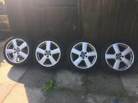 "Audi 18"" 5 Spoke Alloy Wheels 8P0601025S"