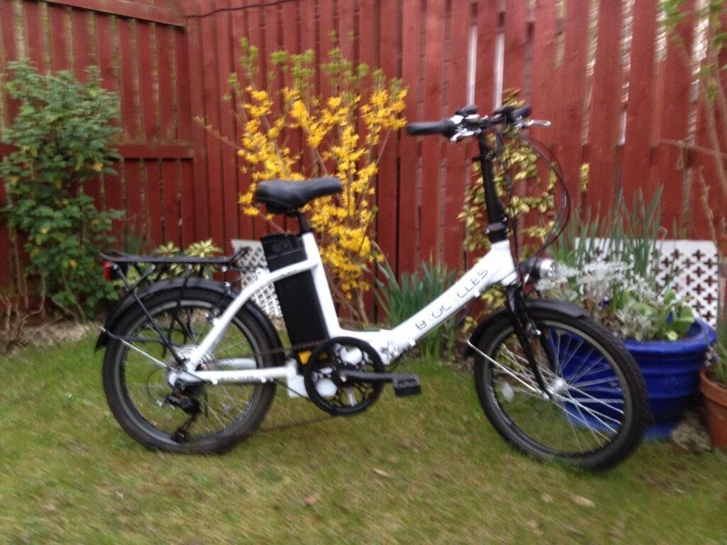 BYOCYCLES folding electric bicycle   in Kirkliston