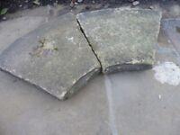 Yorkshire stone garden feature.