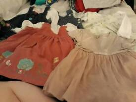 Bundle of girls 3-6 month dresses