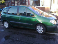 **** ONLY £495 RENAULT MEGANE SCENIC EXPRESSION 1.6 ONLY 104,000 MILES FULL MOT ,HAD THIS CAR FOR 10