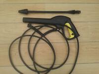 Karcher Trigger Gun / Pressure Hose & Dirt Blaster Attachment
