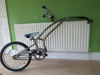 """ADAMS TRAILER BIKE. TAG-A-LONG. FOLDS FLAT TO FIT IN BOOT OF THE CAR. GREAT CONDITION."