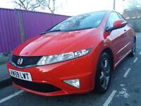 Honda civic 1.4 si 2010 red