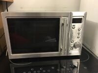 MICROWAVE IN SILVER WORKS PERFECT
