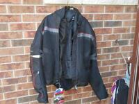 Arlen Ness Padded Motorcycle Jacket - new with tags
