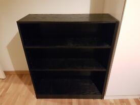Small Argos bookshelf Extra Deep - Black