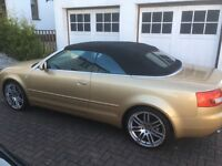 """Audi A4 19"""" Alloys 5x112 With Tyres (Excellent Treads)"""