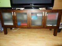 TV cabinet, 4 Door Sideboard