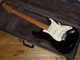 Fender USA Stratocaster 1984 with Fender TBX tone control