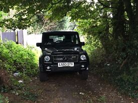 MERCEDES G WAGON G300 AUTO £16500.. PX RANGE ROVER VOGUE LAND ROVER JEEP MERCEDES GL ML NO SWAP
